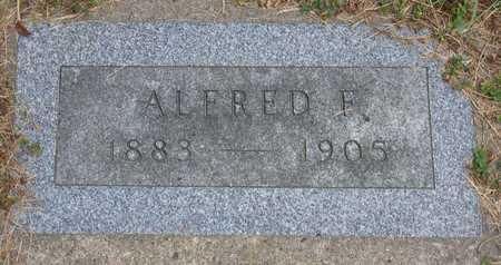 TOMLINSON, ALFRED F. - Linn County, Iowa   ALFRED F. TOMLINSON