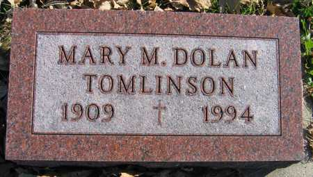DOLAN TOMLINSON, MARY M. - Linn County, Iowa | MARY M. DOLAN TOMLINSON