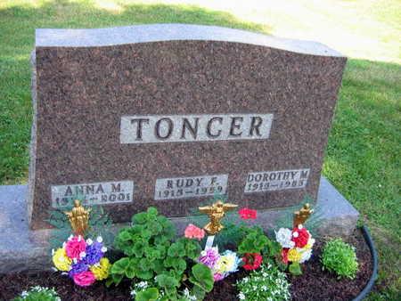 TONCER, ANNA M. - Linn County, Iowa   ANNA M. TONCER