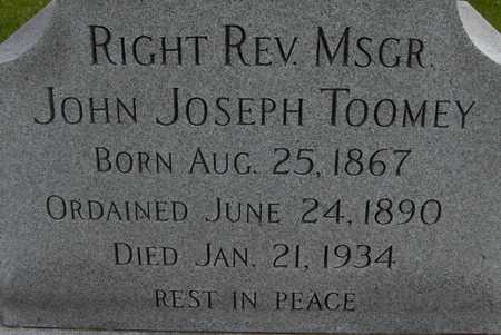 TOOMEY, REV. JOHN JOSEPH - Linn County, Iowa | REV. JOHN JOSEPH TOOMEY