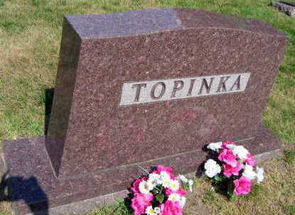 TOPINKA, FAMILY STONE - Linn County, Iowa | FAMILY STONE TOPINKA