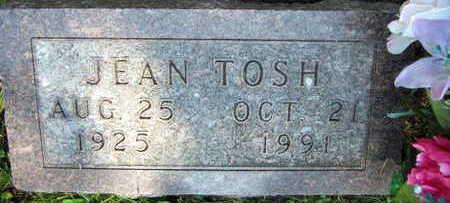 TOSH, JEAN - Linn County, Iowa | JEAN TOSH
