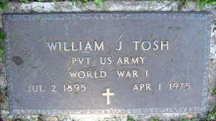 TOSH, WILLIAM J. - Linn County, Iowa | WILLIAM J. TOSH