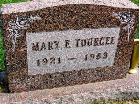 TOURGEE, MARY E. - Linn County, Iowa   MARY E. TOURGEE
