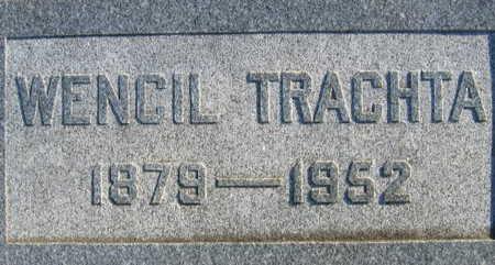 TRACHTA, WENCIL - Linn County, Iowa   WENCIL TRACHTA