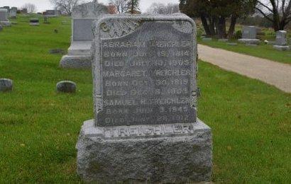 TREICHLER, ABRAHAM - Linn County, Iowa | ABRAHAM TREICHLER