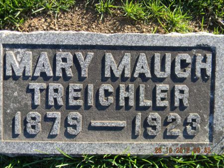 MAUCH TREICHLER, MARY - Linn County, Iowa | MARY MAUCH TREICHLER