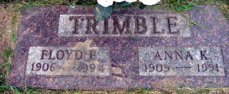 TRIMBLE, ANNA K. - Linn County, Iowa | ANNA K. TRIMBLE