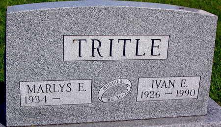 TRITLE, IVAN E. - Linn County, Iowa   IVAN E. TRITLE