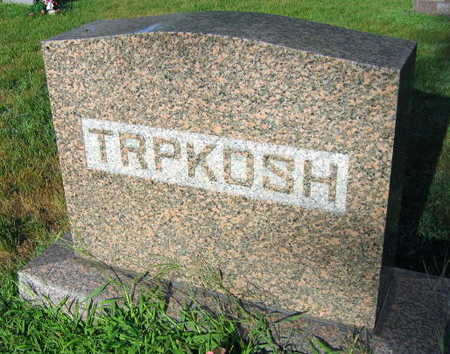 TRPKOSH, FAMILY STONE - Linn County, Iowa | FAMILY STONE TRPKOSH