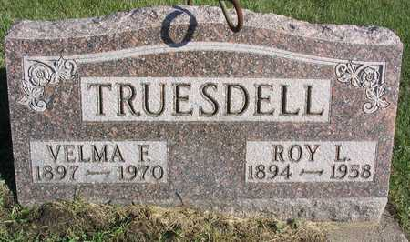 TRUESDELL, VELMA F. - Linn County, Iowa | VELMA F. TRUESDELL