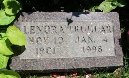 TRUHLAR, LENORA - Linn County, Iowa   LENORA TRUHLAR
