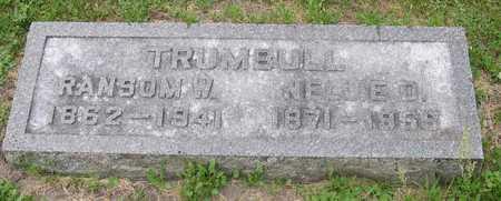 TRUMBULL, NELLIE D. - Linn County, Iowa | NELLIE D. TRUMBULL