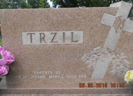 TRZIL, FAMILY STONE - Linn County, Iowa | FAMILY STONE TRZIL
