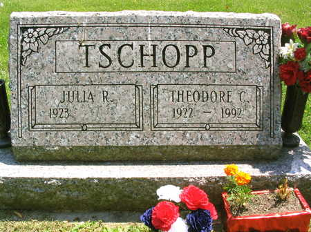 TSCHOPP, THEODORE C. - Linn County, Iowa | THEODORE C. TSCHOPP