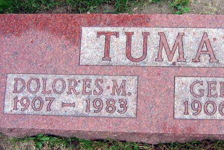 TUMA, DOLORES M. - Linn County, Iowa | DOLORES M. TUMA