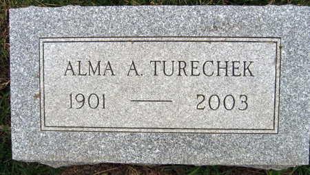 TURECHEK, ALMA A. - Linn County, Iowa | ALMA A. TURECHEK