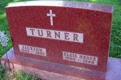 HRBEK TURNER, ELSIE - Linn County, Iowa   ELSIE HRBEK TURNER