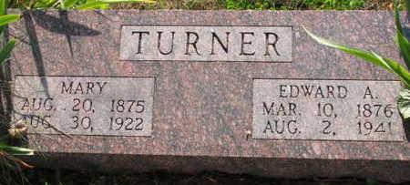 TURNER, EDWARD A. - Linn County, Iowa   EDWARD A. TURNER
