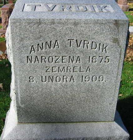 TVRDIK, ANNA - Linn County, Iowa | ANNA TVRDIK