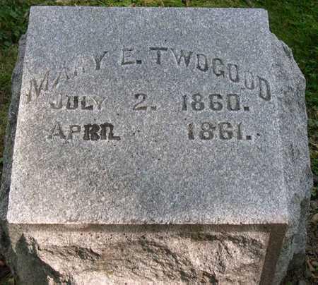TWOGOOD, MARY E. - Linn County, Iowa | MARY E. TWOGOOD