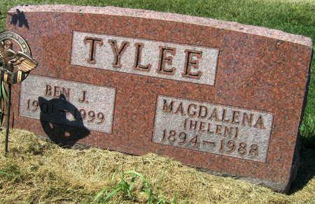 TYLEE, BEN J. - Linn County, Iowa   BEN J. TYLEE