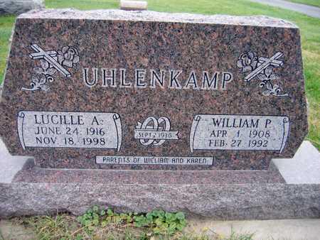 UHLENKAMP, WILLIAM P. - Linn County, Iowa | WILLIAM P. UHLENKAMP