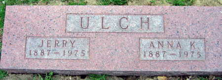 ULCH, JERRY - Linn County, Iowa | JERRY ULCH
