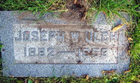 ULCH, JOSEPH W. - Linn County, Iowa   JOSEPH W. ULCH