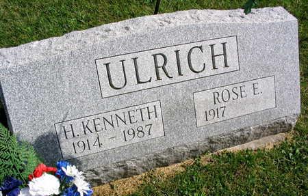 ULRICH, H. KENNETH - Linn County, Iowa   H. KENNETH ULRICH