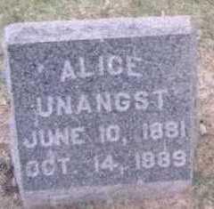 UNANGST, ALICE - Linn County, Iowa | ALICE UNANGST