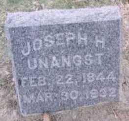 UNANGST, JOSEPH H. - Linn County, Iowa | JOSEPH H. UNANGST