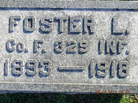 UNKN, FOSTER L. - Linn County, Iowa | FOSTER L. UNKN