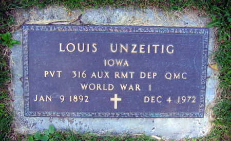 UNZEITIG, LOUIS - Linn County, Iowa | LOUIS UNZEITIG
