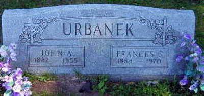 URBANEK, JOHN A. - Linn County, Iowa | JOHN A. URBANEK