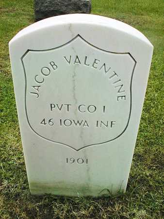 VALENTINE, JACOB - Linn County, Iowa | JACOB VALENTINE
