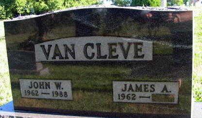VAN CLEVE, JOHN W. - Linn County, Iowa | JOHN W. VAN CLEVE