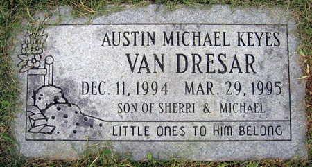 VAN DRESAR, AUSTIN MICHAEL KEYES - Linn County, Iowa | AUSTIN MICHAEL KEYES VAN DRESAR