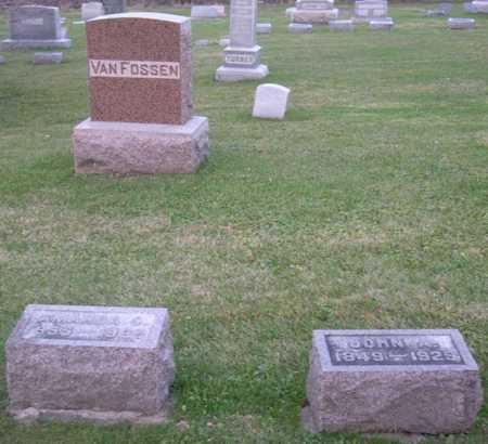 VAN FOSSEN, FAMILY STONE - Linn County, Iowa | FAMILY STONE VAN FOSSEN