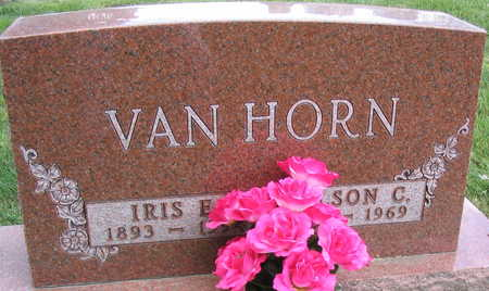 VAN HORN, NELSON C. - Linn County, Iowa | NELSON C. VAN HORN