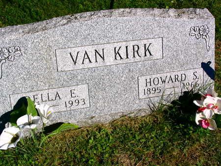 VAN KIRK, DELLA E. - Linn County, Iowa | DELLA E. VAN KIRK