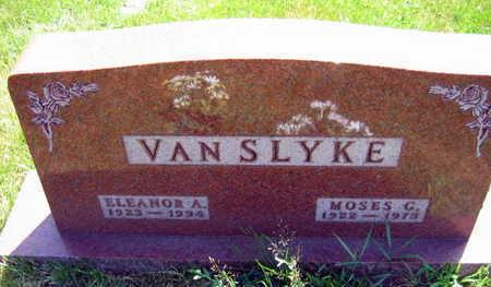 VAN SLYKE, ELEANOR A. - Linn County, Iowa | ELEANOR A. VAN SLYKE