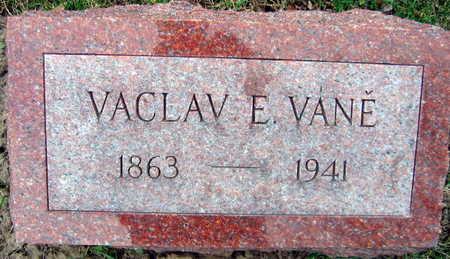 VANE, VACLAV - Linn County, Iowa | VACLAV VANE