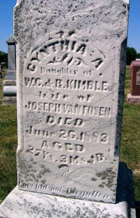 KIMBLE VANFOSEN, CYNTHIA - Linn County, Iowa | CYNTHIA KIMBLE VANFOSEN