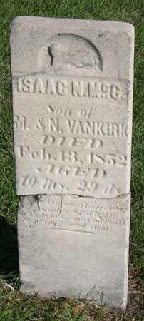 VANKIRK, ISAAC N. MCC. - Linn County, Iowa | ISAAC N. MCC. VANKIRK