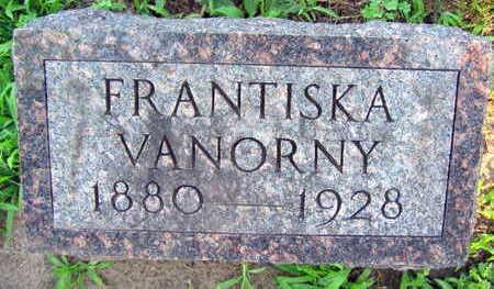 VANORNY, FRANTISKA - Linn County, Iowa | FRANTISKA VANORNY
