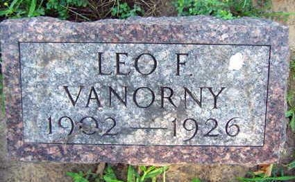 VANORNY, LEO F. - Linn County, Iowa   LEO F. VANORNY