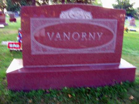 VANORNY, FAMILY STONE - Linn County, Iowa | FAMILY STONE VANORNY