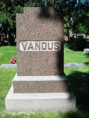 VANOUS, FAMILY STONE - Linn County, Iowa | FAMILY STONE VANOUS