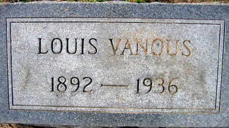 VANOUS, LOUIS - Linn County, Iowa | LOUIS VANOUS